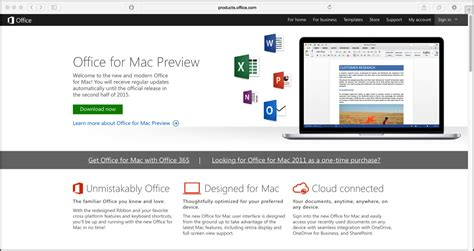 Office For Mac 2016 Office For Mac 2016 Preview Build Released Teachucomp Inc