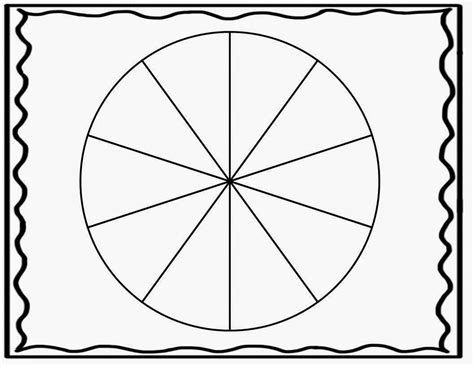 rotating wheel card template spinner clipart 40