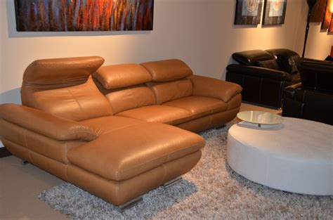 camel leather sectional 575 modern camel italian leather sectional sofa