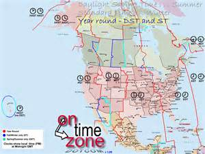 map of canada and us time zones ontimezone time zones for the usa and america
