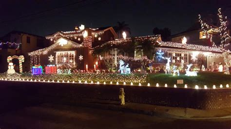 awesome picture of palos verdes christmas lights perfect