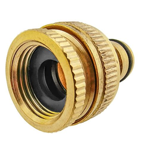 Garden Hose Uae Brass Release Connector To Ght 3 4 Quot Or