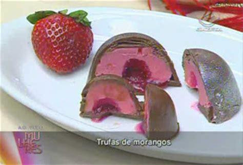 donna gula chocolates artesanais trufas divina gula s 243 receitas trufas de morangos