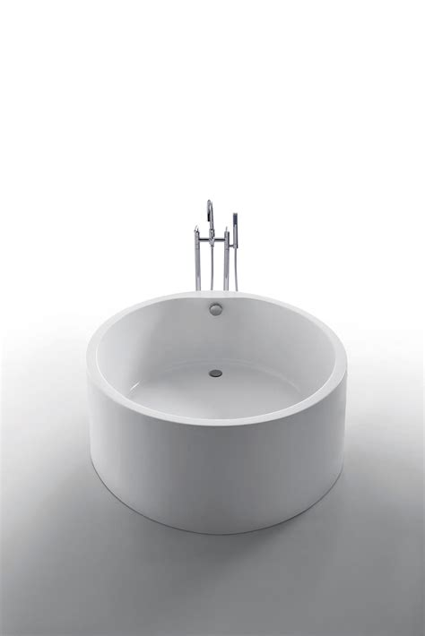 freestanding round bathtub dana freestanding soaking round bathtub 51
