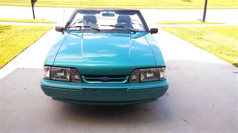 Ford Mustang 5 0 For Sale by 1992 Ford Mustang Lx 5 0 Convertible For Sale