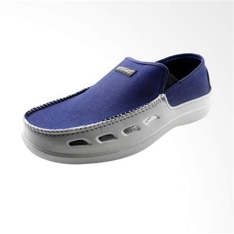 Sepatu Flatshoes Biru Sepatu Loafer Biru Sepatu Slip On Biru jual ardiles octan casual slip on sepatu pria biru