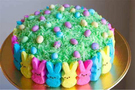 wonderful diy super cute easter peep cake
