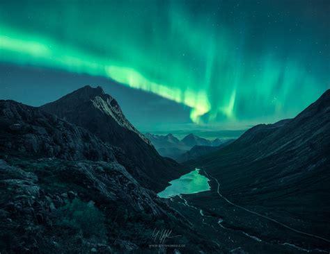 Northern Lights Landscaping Mystical Northern Lights Landscape Photographer Stefan Hefele