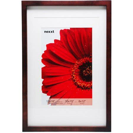 gallery 12 quot x 18 quot espresso frame matted for 10x15 - 10 X 15 Matted Frames