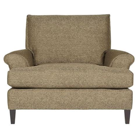 overstuffed armchair pascale modern classic overstuffed tweed brown armchair kathy kuo home