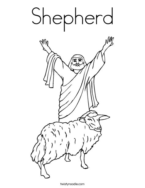 the lord is my shepherd coloring pages coloring home