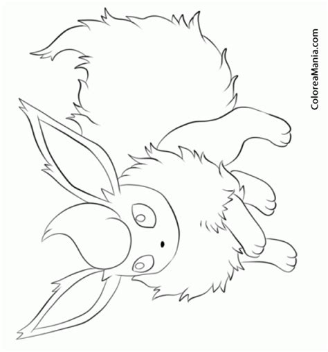 pin pokemon flareon coloring pages on pinterest
