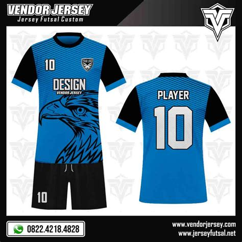 desain jersey di photoshop desain jersey kaos futsal motif elang vendor jersey futsal