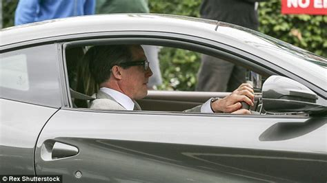 Hugh Grant Cleared For Bean Throwing Incident by Hugh Grant Looks Dapper As He Attends Wimbledon With