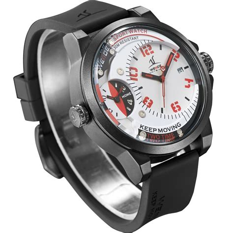Weide Universe Series Time Zone 30m Water Resistance Uv1503 weide universe series dual time zone 30m water resistance