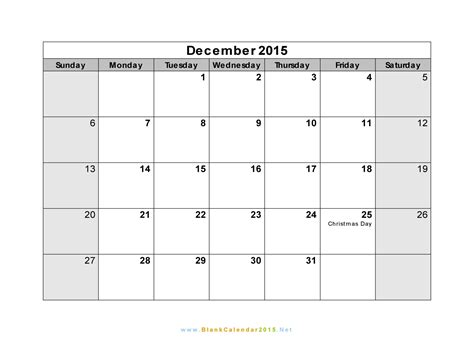 blank printable monthly calendar december 2015 16 blank calendar template 2014 2015 images august 2015