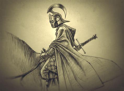 knight pencil sketch by shaka zl on deviantart