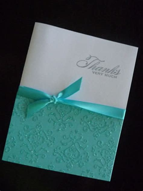 Handmade Wedding Thank You Cards - beautiful custom thank you notes weddingbee photo gallery