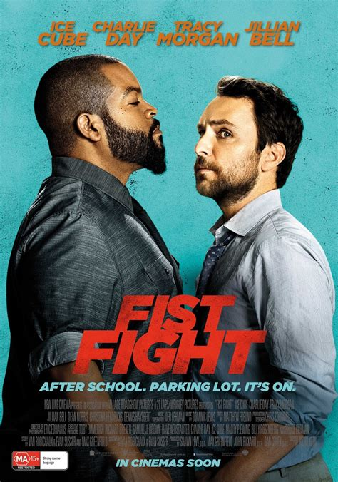 latest movie releases fist fight 2017 poster
