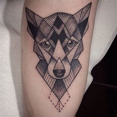tattoo inspiration dog 282 best images about geometricos tattoo on pinterest