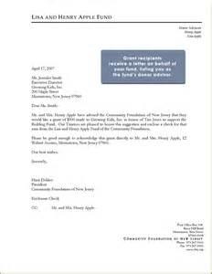 Transmittal Letter Grant Application Donation Letter Sle For