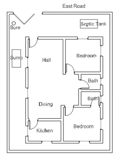 vastu house plan for south facing plot