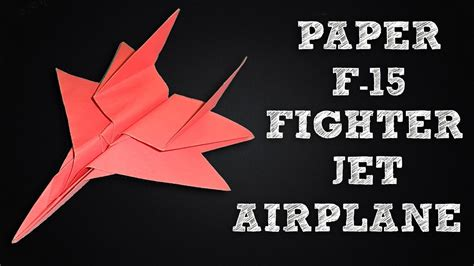 How To Make A Paper Fighter Jet - how to make a paper airplane jet fighters 28 images 25