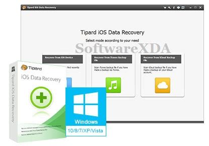 tipard ios data recovery latest version softwarexda