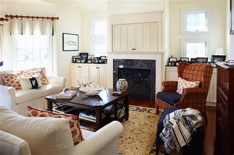 nautical family room nautical living traditional living room philadelphia