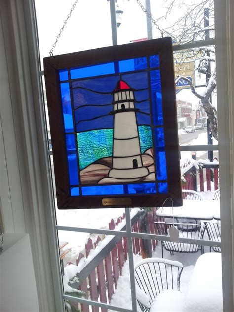 stained glass lighthouse l 17 best images about stained glass lighthouses on
