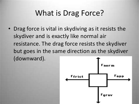 cross sectional area in physics physics of skydiving