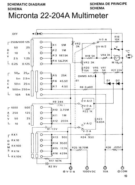 Multitester Sanwa Manual sanwa analog multimeter circuit diagram efcaviation