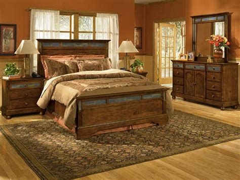 western bedroom design ideas