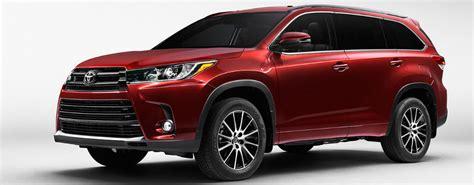 Toyota Highlander Horsepower 2017 Toyota Highlander Performance Features And Specs
