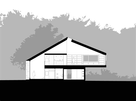 House Plans Architectural gallery of writing studio andrew berman architect 13