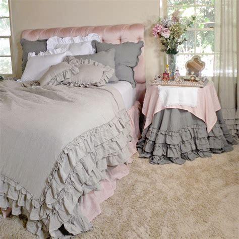 ruffle bedding linen ruffle duvet cover by davenport rosenberryrooms com