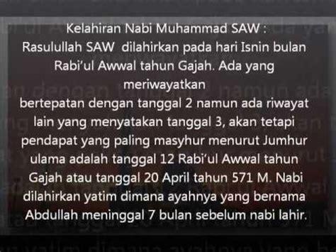 contoh biografi nabi muhammad  contoh agece