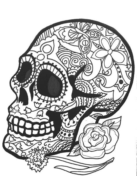 day of the dead coloring pages pdf 564 best images about skull coloring dia de los muertos