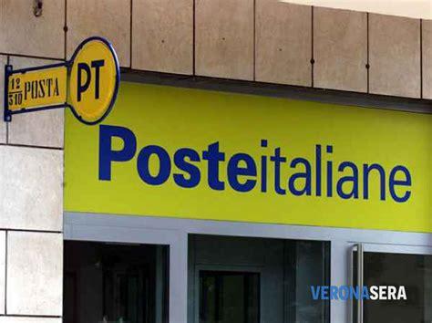 ufficio postale verona poste italiane rinviato il piano di riorganizzazione