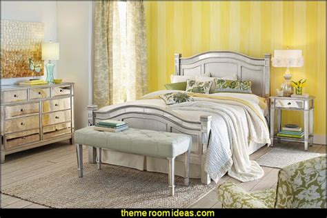 hayworth mirrored bedroom furniture collection decorating theme bedrooms maries manor
