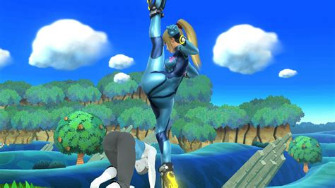 Big Bros zero suit samus legs split smash