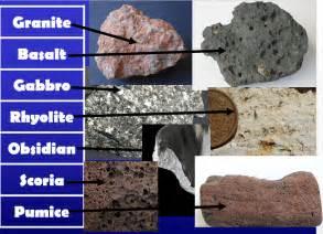 types of rocks kinds of rocks