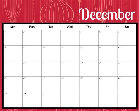 Printable Christmas December 2015 Calendar Pdf | santa december calendar 2015 calendar template 2016