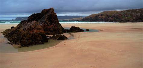 küsten bäder ceannabeinne traum strand in den schottischen highlands