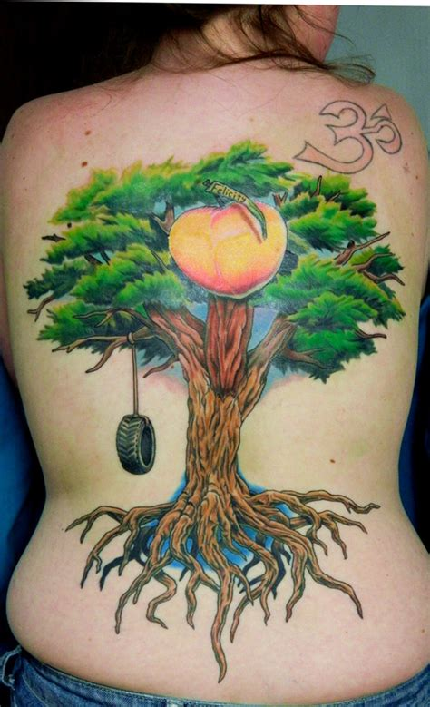 megan s tree and peach by sirius tattoo on deviantart