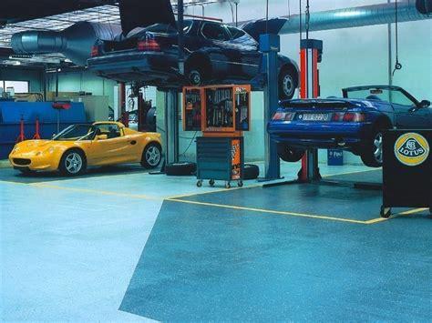 werkstatt auto auto kfz industrie held industrieboden