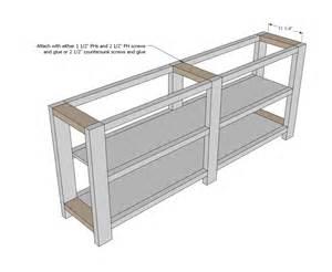 shelf plans 2x4 plans free