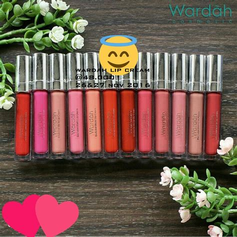Lip Wardah Lipcream Lipgloss Matte wardah lip exclusive matte wardah lipcream lip