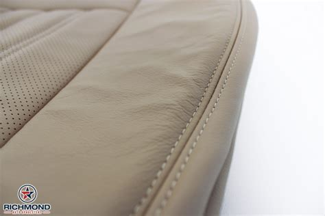 replacement upholstery 2005 lincoln aviator perforated leather seat cover driver