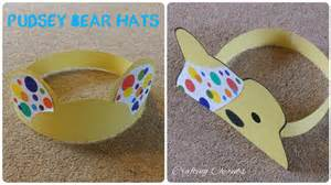 pudsey bear hat crafts craftingcherubsblog